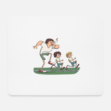 Schoolgirl Sports teacher - Mouse Pad