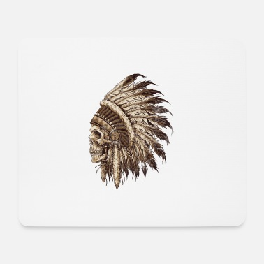 Redskin Indian spirit - Mouse Pad