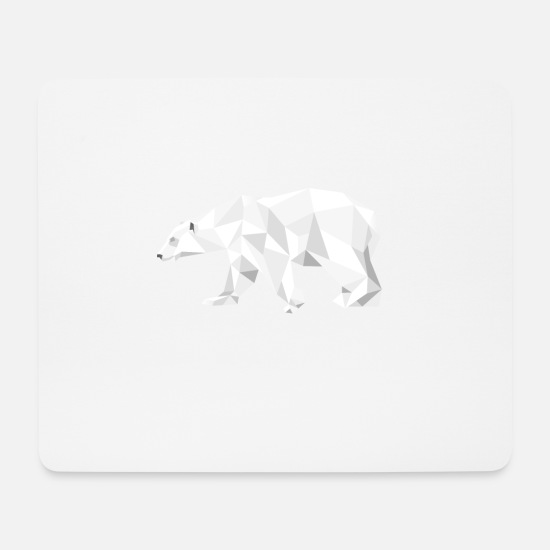 Ice Floe Mouse Pads - Icebear - Mouse Pad white