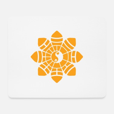 Oracle Bagua - Signe Oracle jaune - Tapis de souris