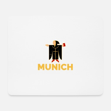 Minga Munich Kindl Munich city coat of arms gift idea - Mouse Pad