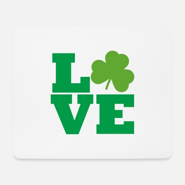 Day Of Saint SAINT PATRICK'S DAY LOVE - Mouse Pad