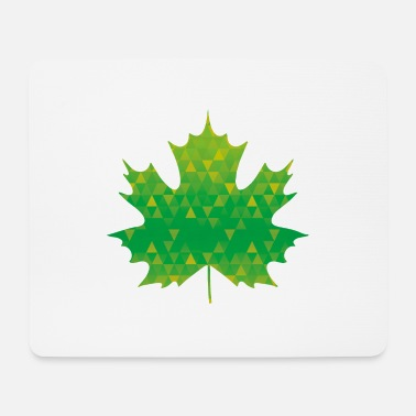 Ahorn leaf design - Mousepad