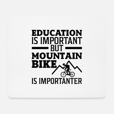 Two Mountain Bike is an importing bike gift - Mouse Pad