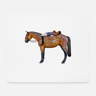 Stallion Horse rider - Mouse Pad