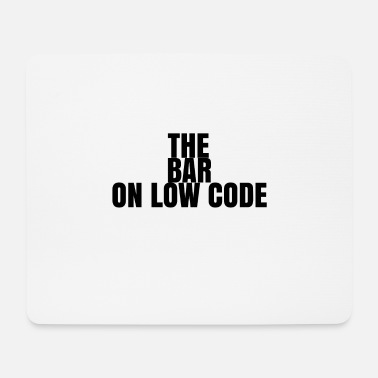 Low-key ON LOW CODE - Mouse Pad