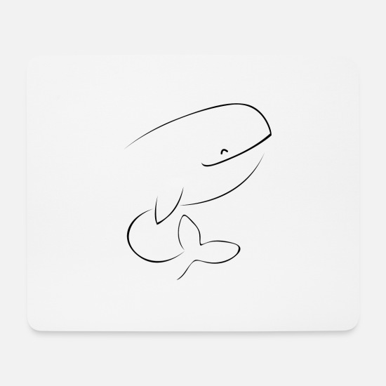 Digital Mouse Pads - Paus 2 - Mouse Pad white