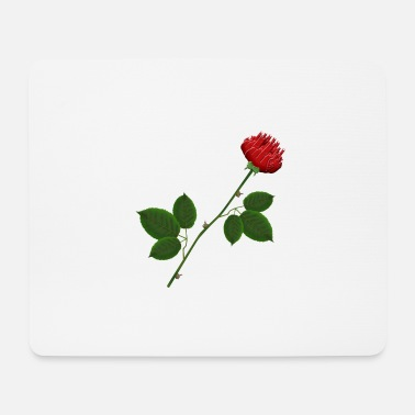Fuck You A very special rose - Mouse Pad
