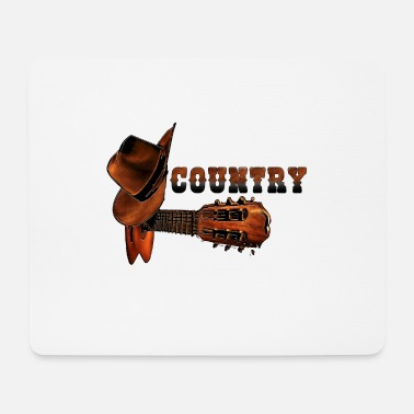 Country country music - tee-shirt country musique - Tapis de souris