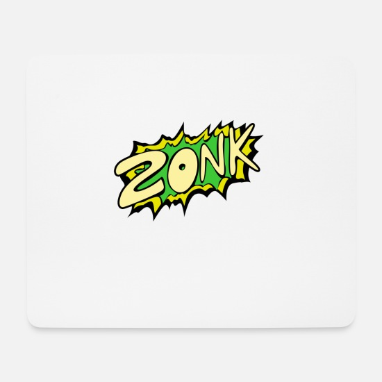 Cool Mouse Pads - Zonk - Mouse Pad white