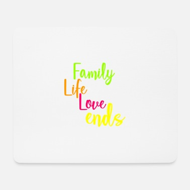Help Together Family love life strength togetherness help - Mouse Pad