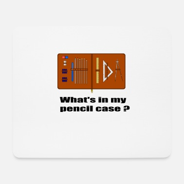 Inhalt Meines Federmaeppchens Whats in my pencil case - Mousepad