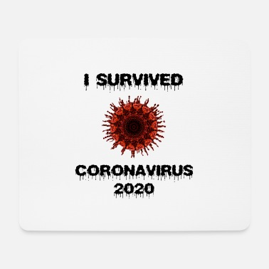 I Survived i survived - Mouse Pad