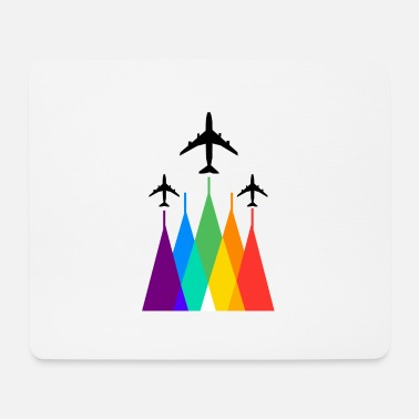 Airline Rainbow Airlines - Mousepad