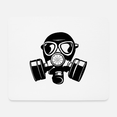 Gas gas mask gas mask Aa - Mouse Pad