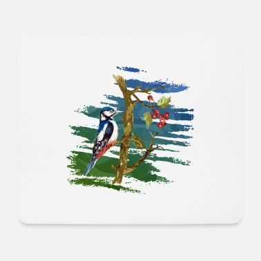 Fruit Bird - Mouse Pad