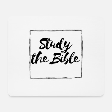 Christian Study The Bible - Mouse Pad