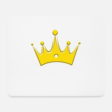 Glamour Crown Crowns King Queen JGA Wedding Bride - Mouse Pad