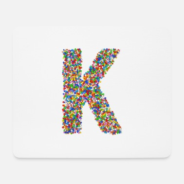 Initial K - Mouse Pad
