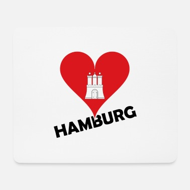 Alster Hamburg - Hanseatic City - North Sea - Alster Elbe Port - Mouse Pad