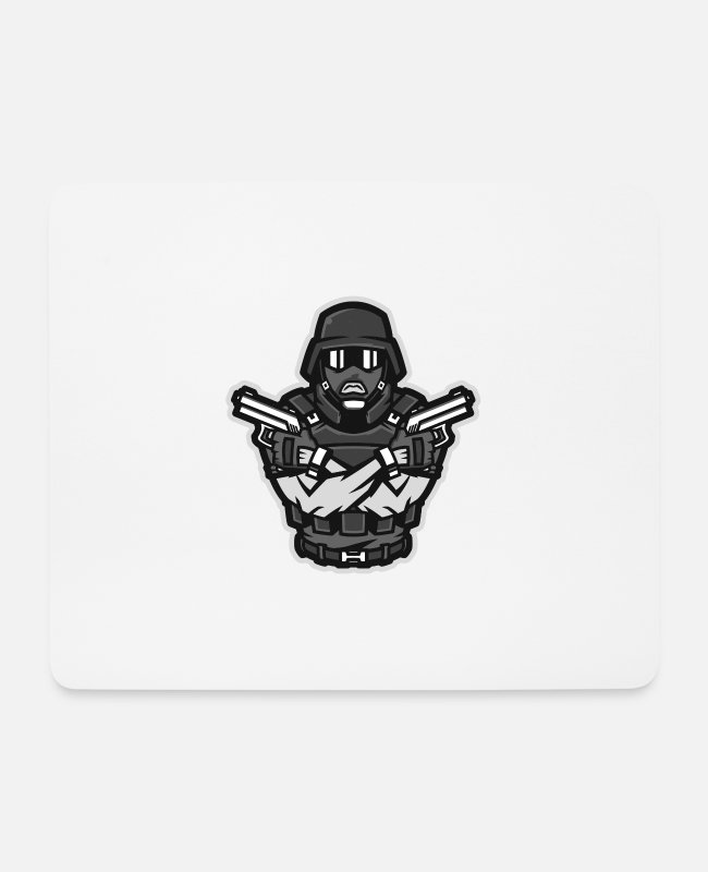 Infantry Mouse Pads - Special Force - Mouse Pad white