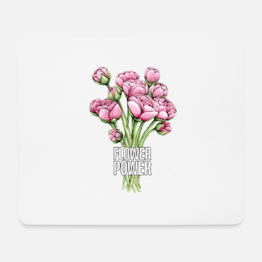 Flower Power flower power - Mouse Pad