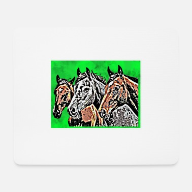 Wealth Horses - Mouse Pad