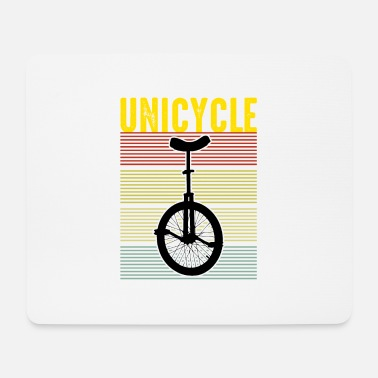 Circus unicycle - Mouse Pad
