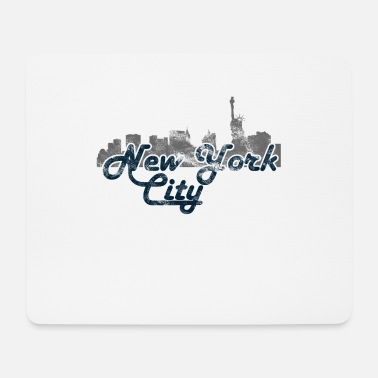 Stylish New York City Vintage - Mouse Pad