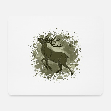 Bull deer - Mouse Pad