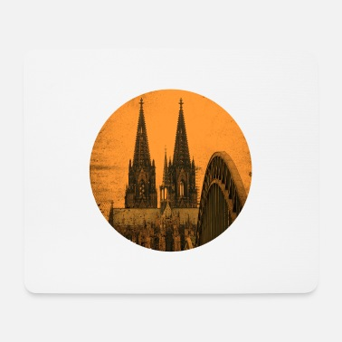 Shrove Monday Cologne cathedral - Mouse Pad