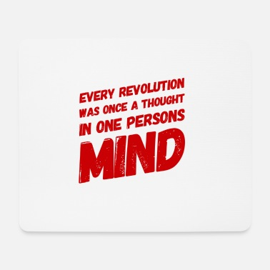 Poverty Thought of revolution - Mouse Pad
