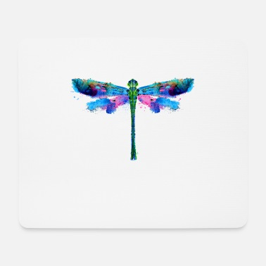 Drawing Painting Symbol Dragonflies drawing insect art painting - Mouse Pad