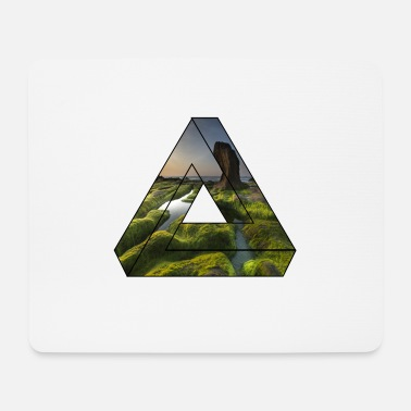 Nature Collection Nature triangle / gift - Mouse Pad
