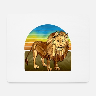 Africa Lion - Mouse Pad