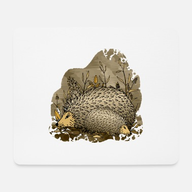 Nature Hedgehogs - Mouse Pad