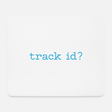 Techno Music Track id raving gift music - Mouse Pad