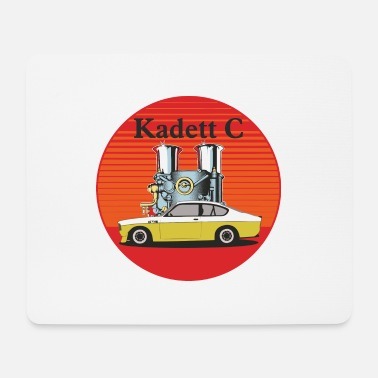 Kadett C COUPE QP with Weber carburettor GTE - Mouse Pad