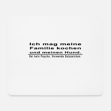 Punctuation Marks Punctuation marks - Mouse Pad