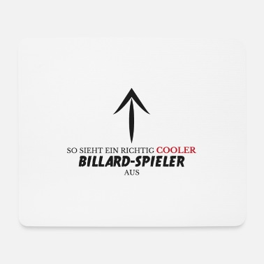 Hobby Cooler billard spieler Geschenk Pool Snooker Queue - Mousepad