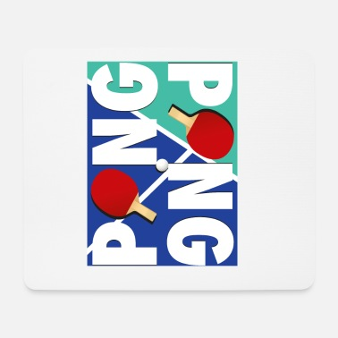Sport Ping Pong sports racket design - Mouse Pad