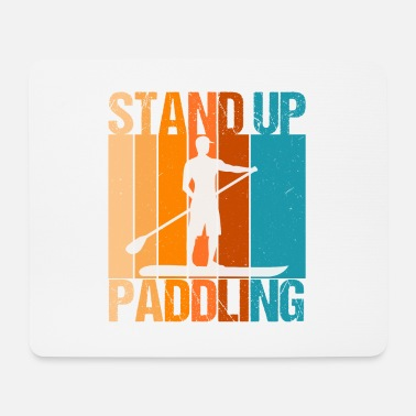 SUP Stand Up Paddling Water Sports Gift - Mouse Pad