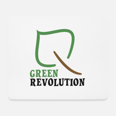 Green Revolution Nature ecology and green revolution - Mouse Pad