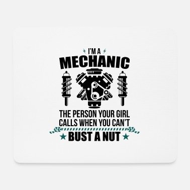 Mechanic Funny Mechanic - mechanic - Mouse Pad