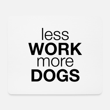 Dogwalking dog - Mouse Pad