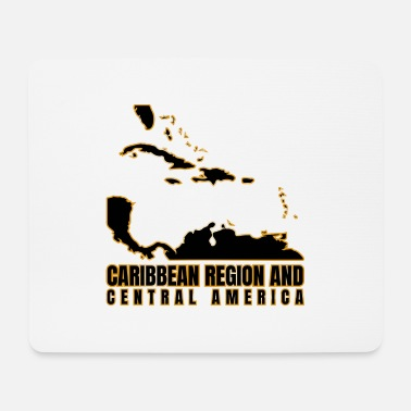 Central America Caribbean Region And Central America - Mouse Pad