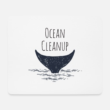 Earth Ocean Clean Up - Mouse Pad