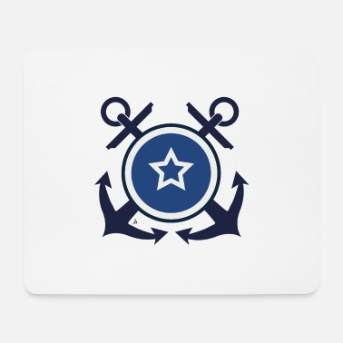 Navy Badge - Navy - Muismatje (landscape)