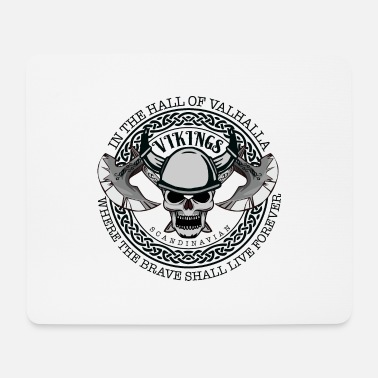 Hall Of Fame In the hall of Valhalla - Mouse Pad