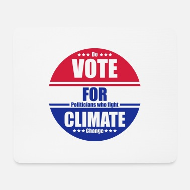 Klimanerd Vote for Climate - Mousepad